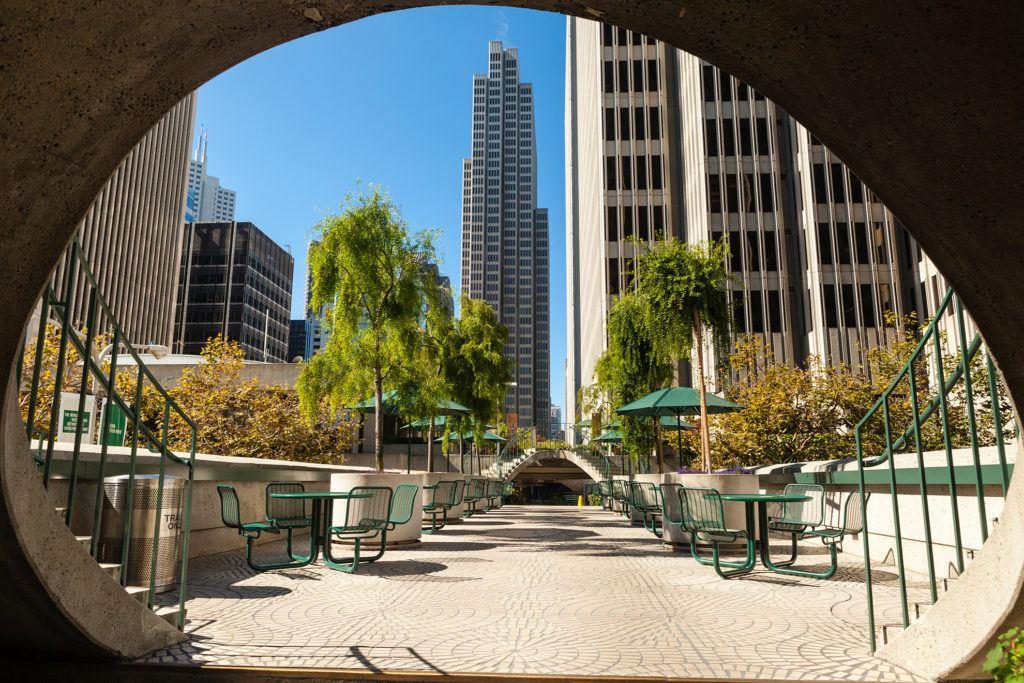 Giardino a Embarcadero San Francisco