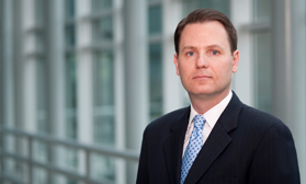 Adam Hutchinson financial services litigation, insurance defense, construction litigation, and general business litigation