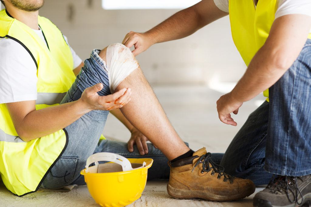 Construction Job Injury