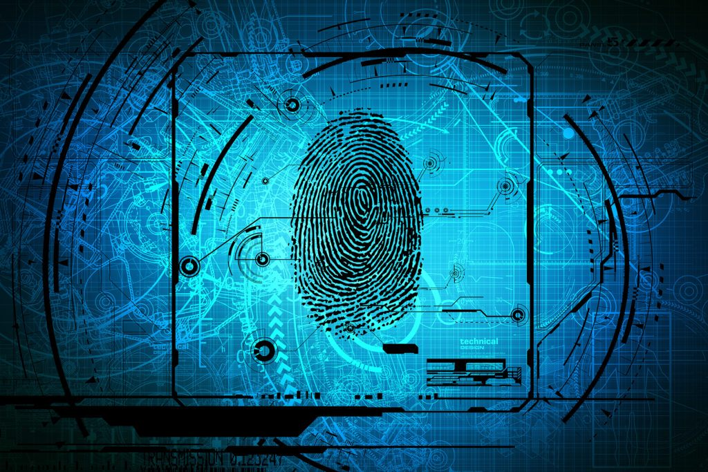 Fingerprint over blueprints
