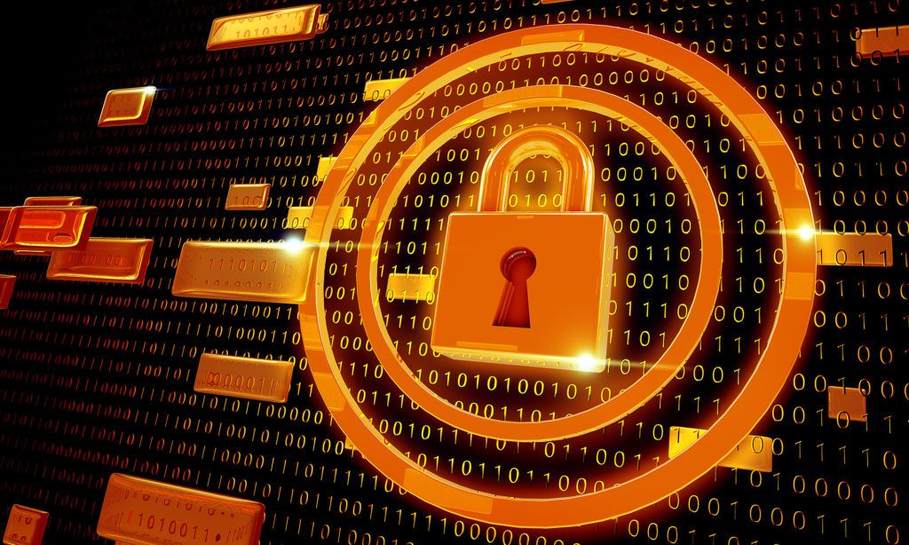 Cyber security lock out